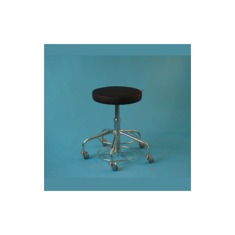 Sedadlo bez operadla na kolieskach, 50 mm